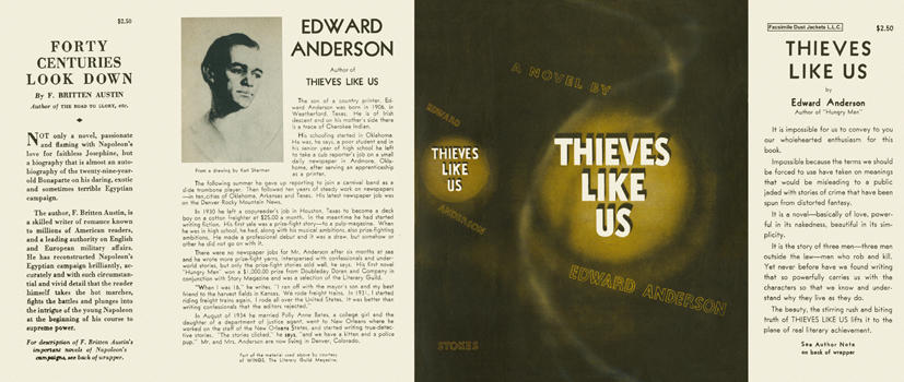 Thieves Like Us. Edward Anderson