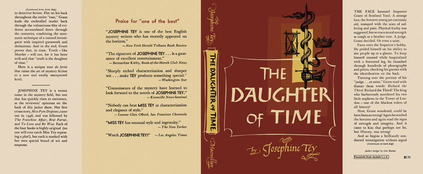 Daughter of Time, The. Josephine Tey.