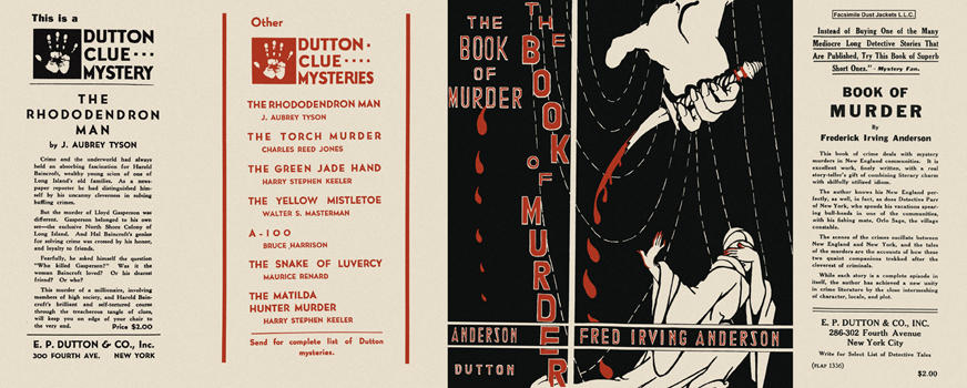 Book of Murder, The. Frederick Irving Anderson