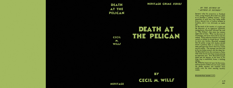 Death at the Pelican. Cecil M. Wills