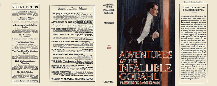 Adventures of the Infallible Godahl. Frederick Irving Anderson