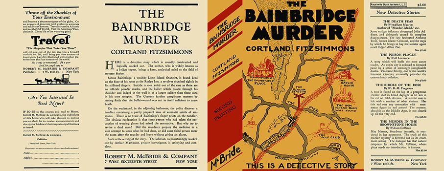 Bainbridge Murder, The. Cortland Fitzsimmons