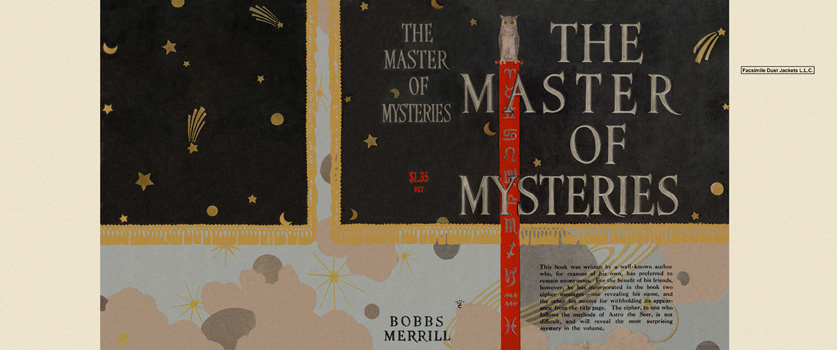 Master of Mysteries, The. Gelett Burgess, Anonymous.