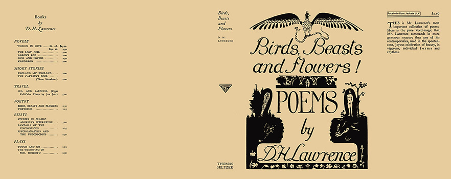 Birds, Beasts and Flowers! D. H. Lawrence