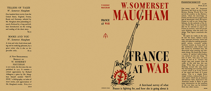 France at War. W. Somerset Maugham.