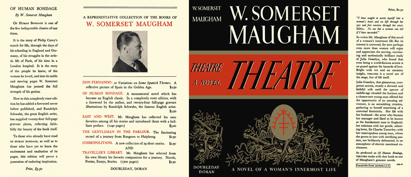 theatre maugham William somerset maugham was an english playwright, novelist and short story writer he was among the most popular writers of his era, and reputedly, the hig.