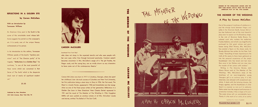 Member of the Wedding, A Play, The. Carson McCullers