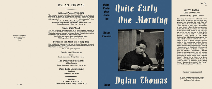 Quite Early One Morning. Dylan Thomas