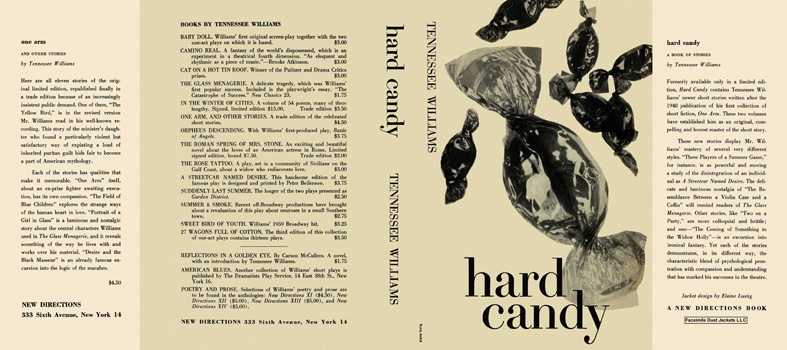 Hard Candy. Tennessee Williams.