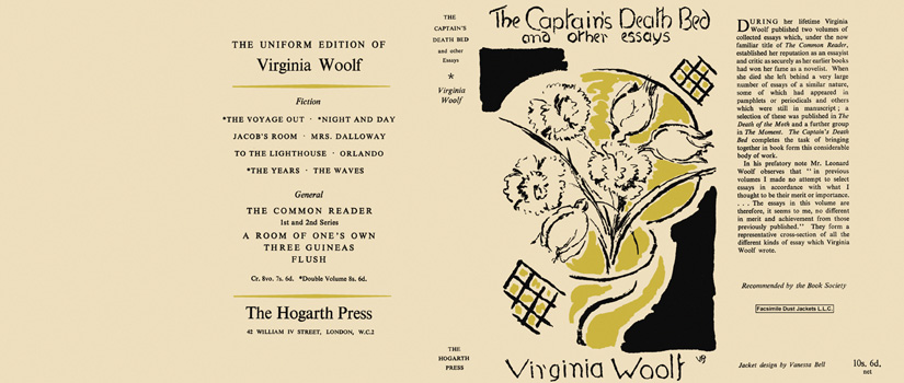 bed captain death essay other Catalog record: the captain's death bed, and other essays | hathi trust digital library navigation home about  the captain's death bed, and other essays by.