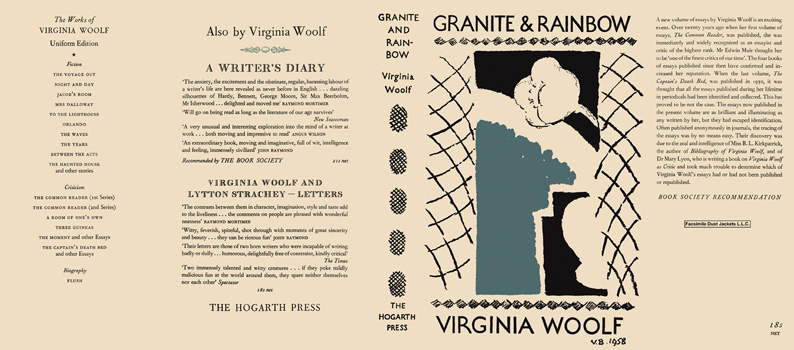 granite and rainbow essays by virginia woolf 2018-3-29 virginia woolf in context is a useful addition to the  mitchell, granite and rainbow: the hidden life of  new feminist essays on virginia woolf.