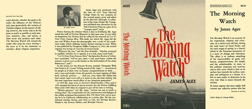 Morning Watch, The. James Agee.