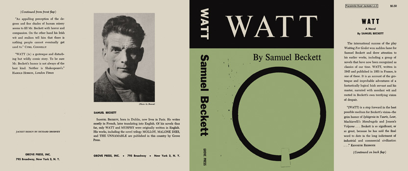 Watt. Samuel Beckett