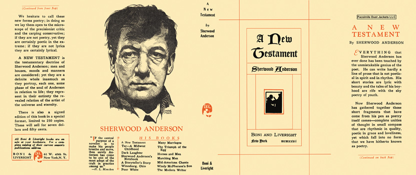 New Testament, A. Sherwood Anderson