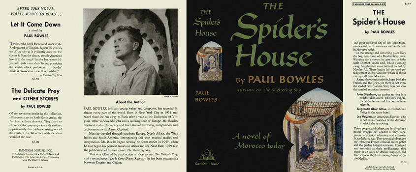 Spider's House, The. Paul Bowles.