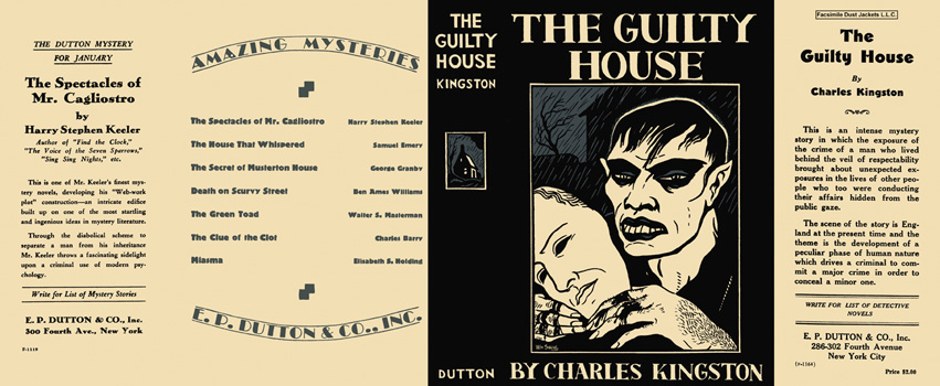 Guilty House, The. Charles Kingston.