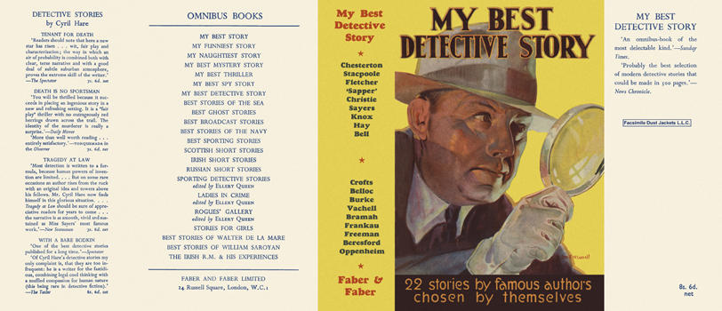 My Best Detective Story. Anthology