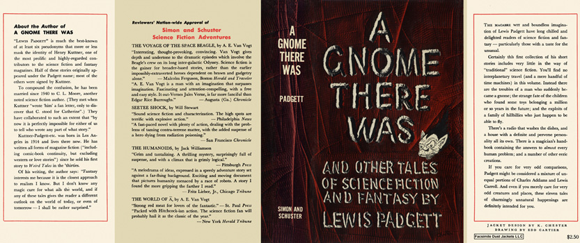 Gnome There Was and Other Tales of Science Fiction and Fantasy, A. Lewis Padgett.