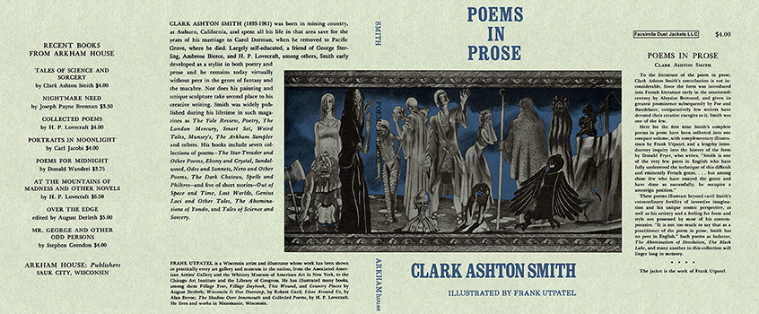 Poems in Prose. Clark Ashton Smith.