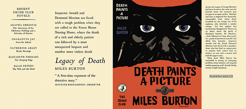 Death Paints a Picture. Miles Burton.