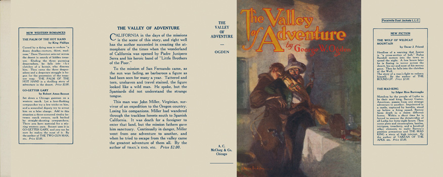 Valley of Adventure, The. George W. Ogden.