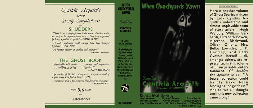 When Churchyards Yawn. Cynthia Asquith, Anthology