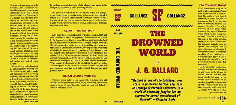 Drowned World, The. J. G. Ballard.