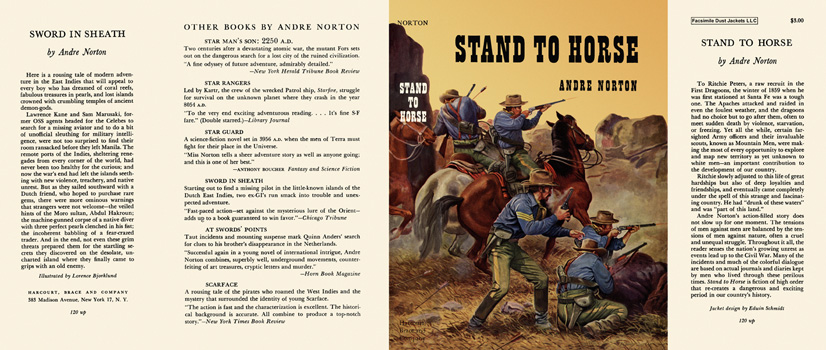 Stand to Horse. Andre Norton