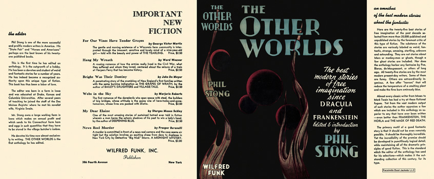 Other Worlds, The. Phil Stong, Anthology.