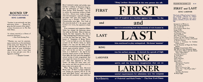 First and Last. Ring W. Lardner.