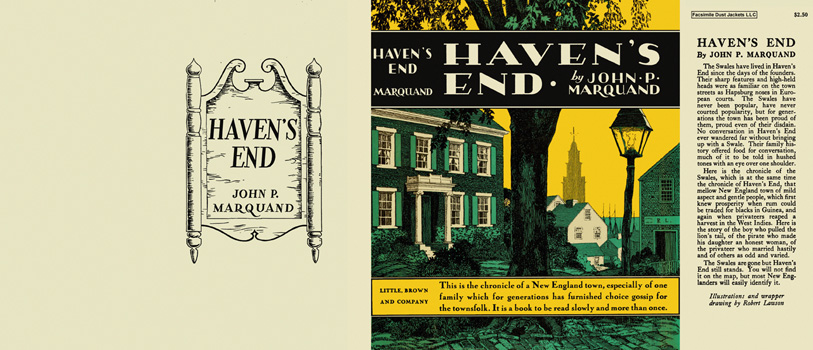 Haven's End. John P. Marquand.