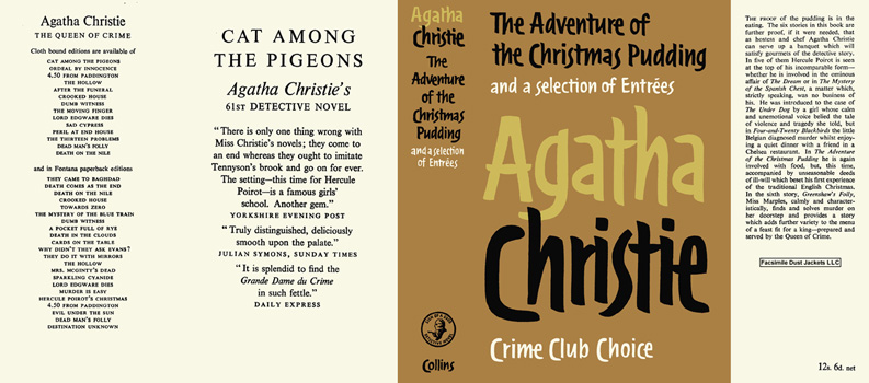 Adventure of the Christmas Pudding, The. Agatha Christie