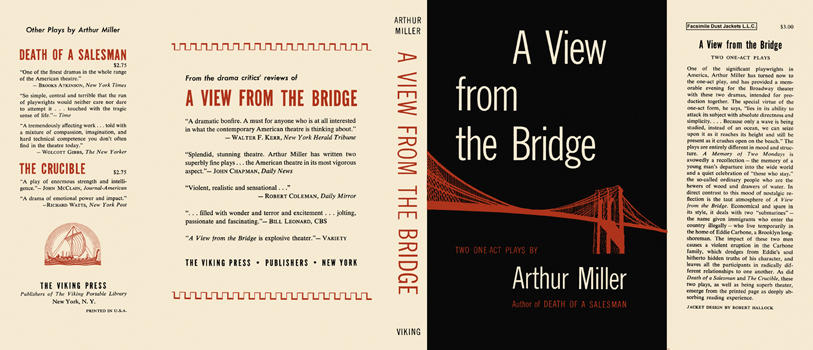 View from the Bridge, A. Arthur Miller
