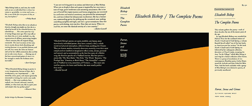 Complete Poems, The. Elizabeth Bishop.