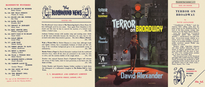 Terror on Broadway. David Alexander