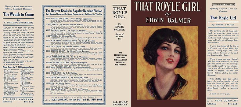 That Royle Girl. Edwin Balmer