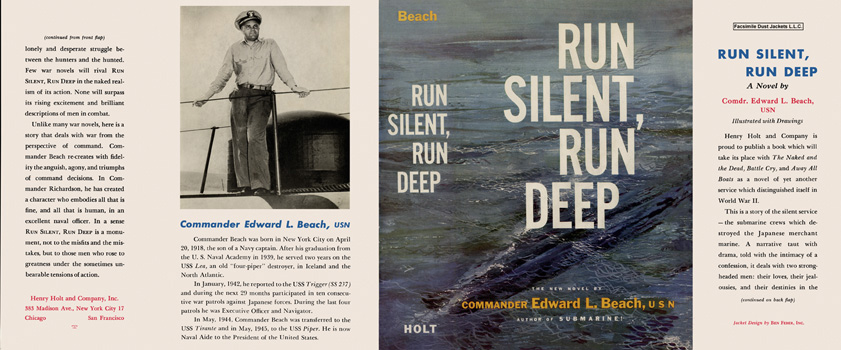 Run Silent, Run Deep. Edward L. Beach, Commander