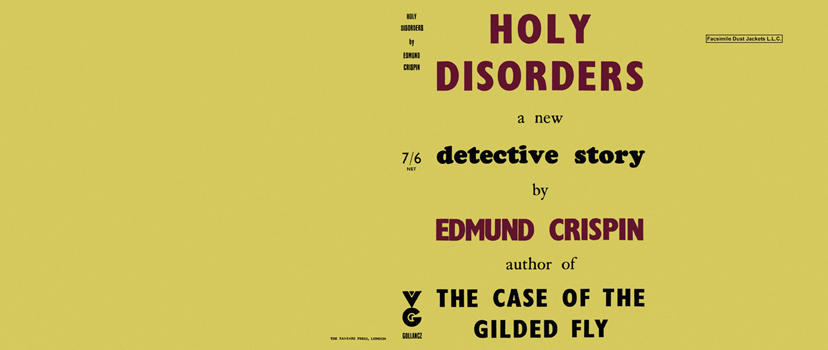 Holy Disorders. Edmund Crispin