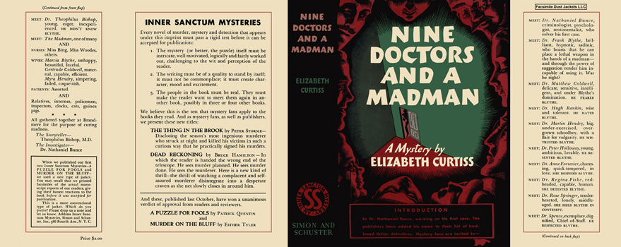 Nine Doctors and a Madman. Elizabeth Curtiss