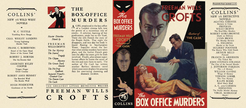 Box Office Murders, The. Freeman Wills Crofts