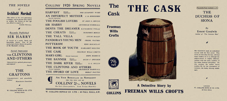 Cask, The. Freeman Wills Crofts