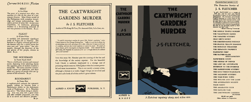 Cartwright Gardens Murder, The. J. S. Fletcher