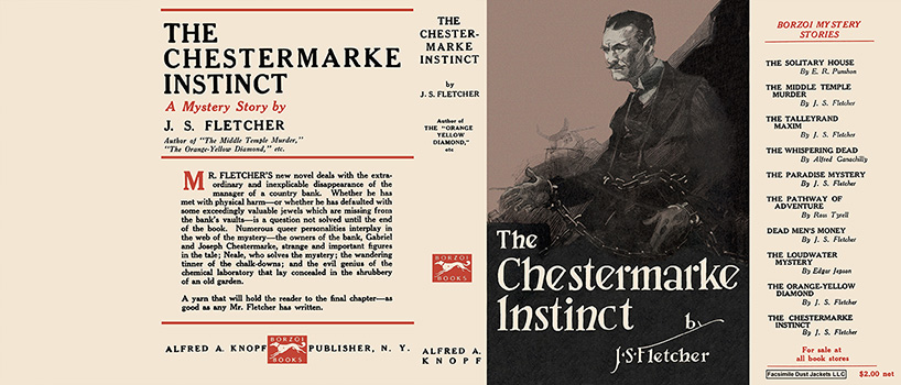 Chestermarke Instinct, The. J. S. Fletcher