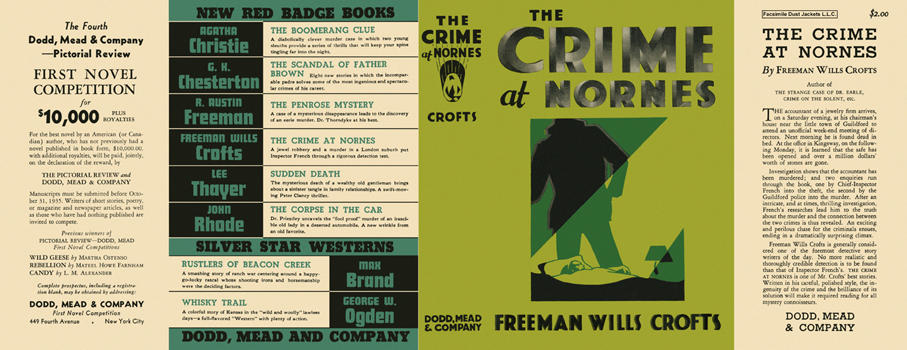 Crime at Nornes, The. Freeman Wills Crofts