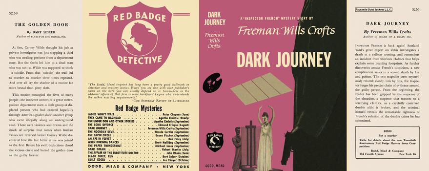 Dark Journey. Freeman Wills Crofts