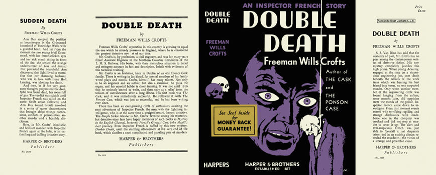 Double Death. Freeman Wills Crofts