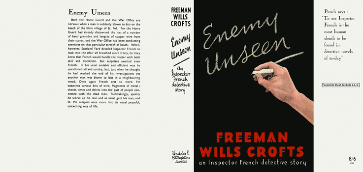 Enemy Unseen. Freeman Wills Crofts