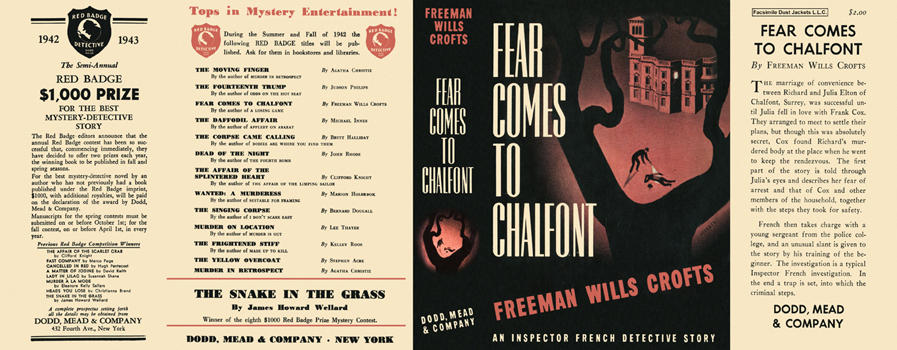 Fear Comes to Chalfont. Freeman Wills Crofts