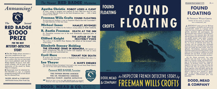 Found Floating. Freeman Wills Crofts