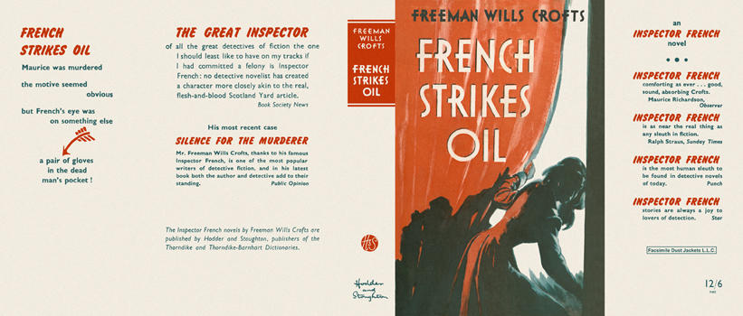 French Strikes Oil. Freeman Wills Crofts